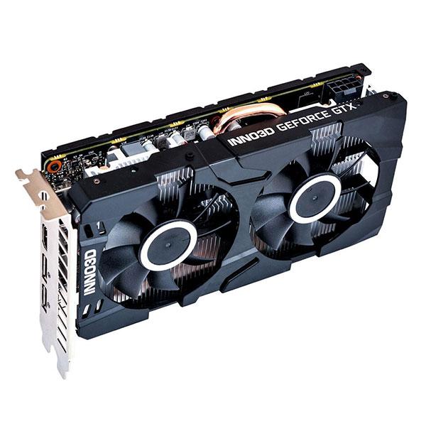 VGA Inno3D GTX 1660Ti TWIN X2 6GB (NVIDIA Geforce/ 6Gb/ GDDR6/ 192Bit)