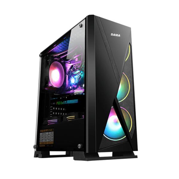 Vỏ máy tính Sama JAZOVO Plus XII Black