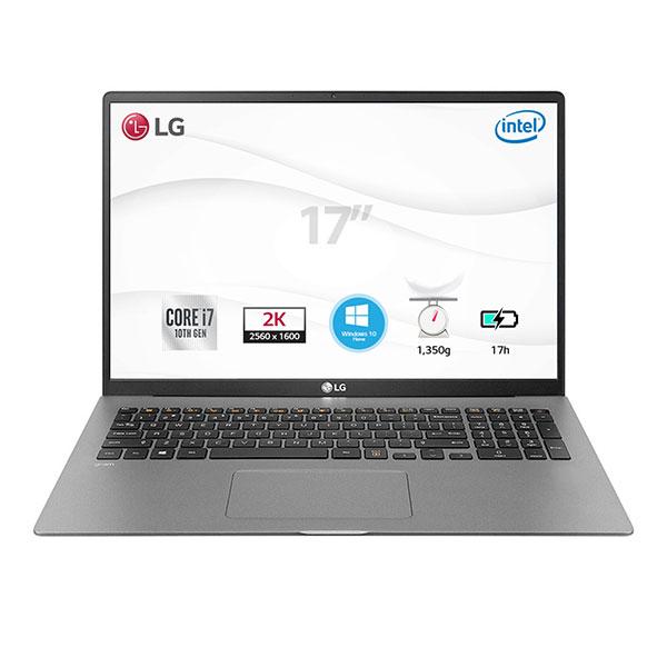 "Laptop LG Gram 17Z90N-V.AH75A5 (i7-1065G7/8GB/512GB SSD/17""WQXGA(2560x1600)/VGA ON/WIN 10/Dark Silver/LED_KB)"