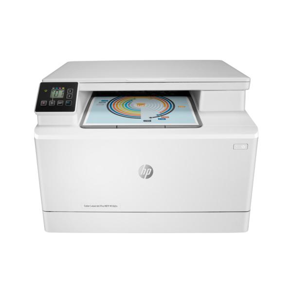 Máy in laser màu đa chức năng HP Pro MFP M182n (7KW54A)
