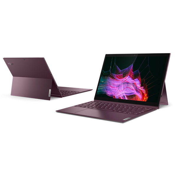 Laptop Lenovo Yoga Duet 7 13IML05 82AS009BVN (Core i7 10510U / RAM 8Gb/ 512Gb SSD/ 13.3Inch WQHD/ Touch/ Pen/ Key/ VGA ON/ Win10/ Tím/ vỏ kim loại)