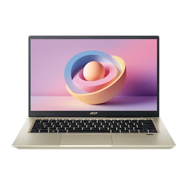 Laptop Acer Swift 3X SF314 510G 57MR NX.A10SV.004 (Core i5 1135G7/ 8Gb/ 512Gb SSD/ 14.0'' FHD/  Intel® Iris® Xe  Max Graphics (DG1)/ Win10/ Gold)
