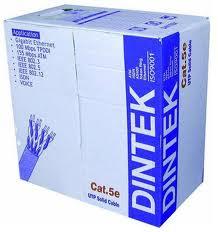 Cáp mạng Cat5e dintek (305m/cuộn)