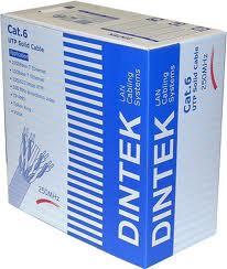 Cáp mạng Cat6e dintek (300m/cuộn),