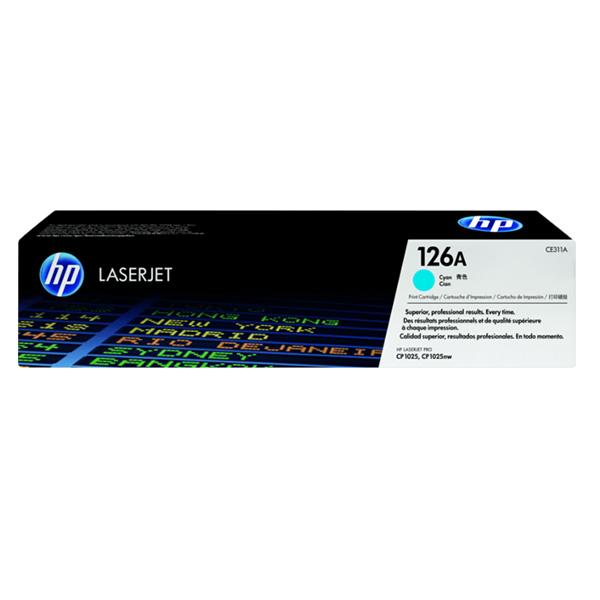 Mực hộp máy in laser HP CE311A - Dùng cho máy HP CP1025
