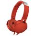 Tai nghe Sony MDR-XB550AP (Đỏ)