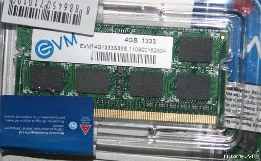 RAM Laptop EVM 2Gb DDR3 1333