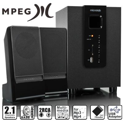 Loa Microlab 2.1 M100U
